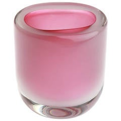 Archimede Seguso Glass Vase