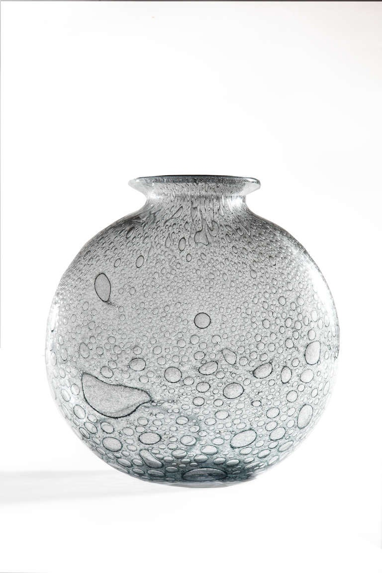 Italian Barovier & Toso Glass Vase For Sale