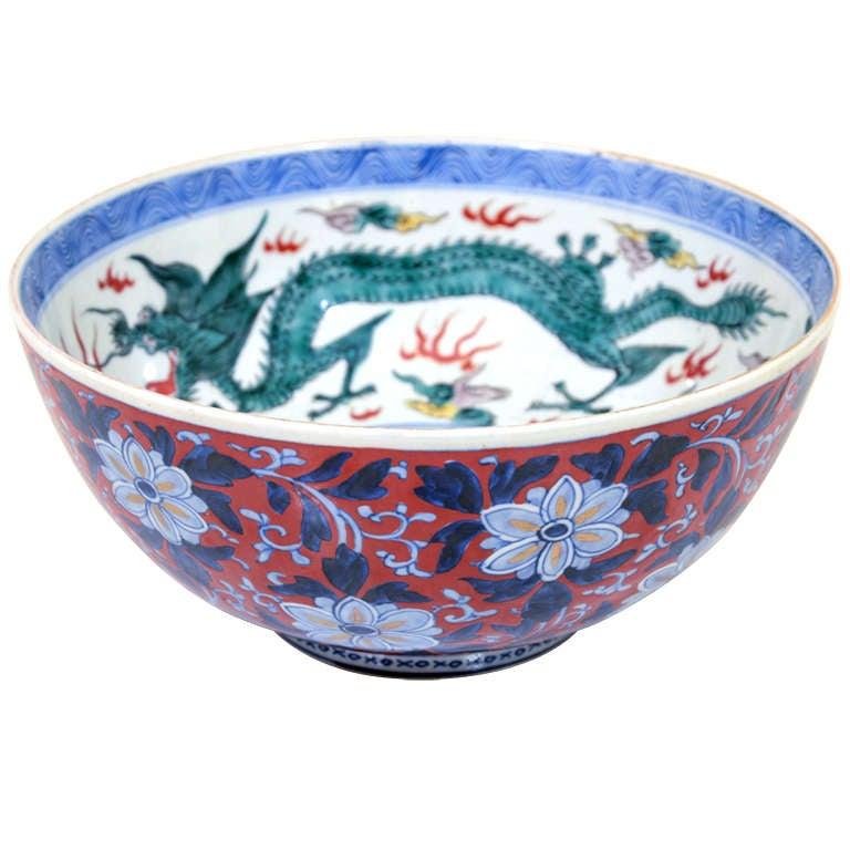 Antique Japanese Imari Porcelain Ceramic Decorative Bowl  : xl from www.1stdibs.com size 768 x 768 jpeg 59kB