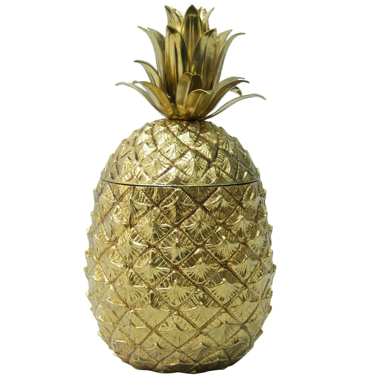 mauro manetti pineapple ice bucket at 1stdibs