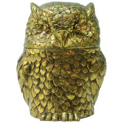 Owl Shaped Ice Bucket by Mauro Manetti