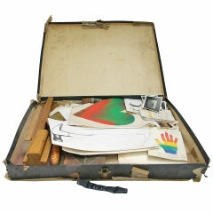54 Items from Artist Jim Dine's 60 Chester Square Studio, 1971