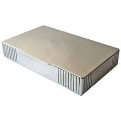 Georg Jensen Sterling Silver Keepsake Box No. 843 by Jorgen Jensen