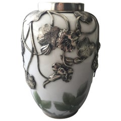 Royal Copenhagen Rare Vase with Silver Mounting from 1911