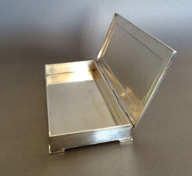 georg jensen keepsake box no 827 at 1stdibs. Black Bedroom Furniture Sets. Home Design Ideas