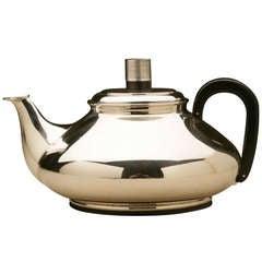 Frantz Hingelberg Modernist Teapot Designed by Svend Weihrauch