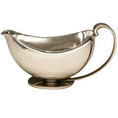 Georg Jensen Art Deco Sauceboat No. 761