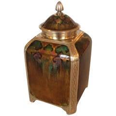 Exceptional Tea Caddy by David Andersen, Very Rare