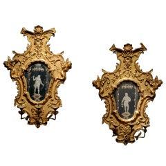Venetian Mirrored Sconces c.1740