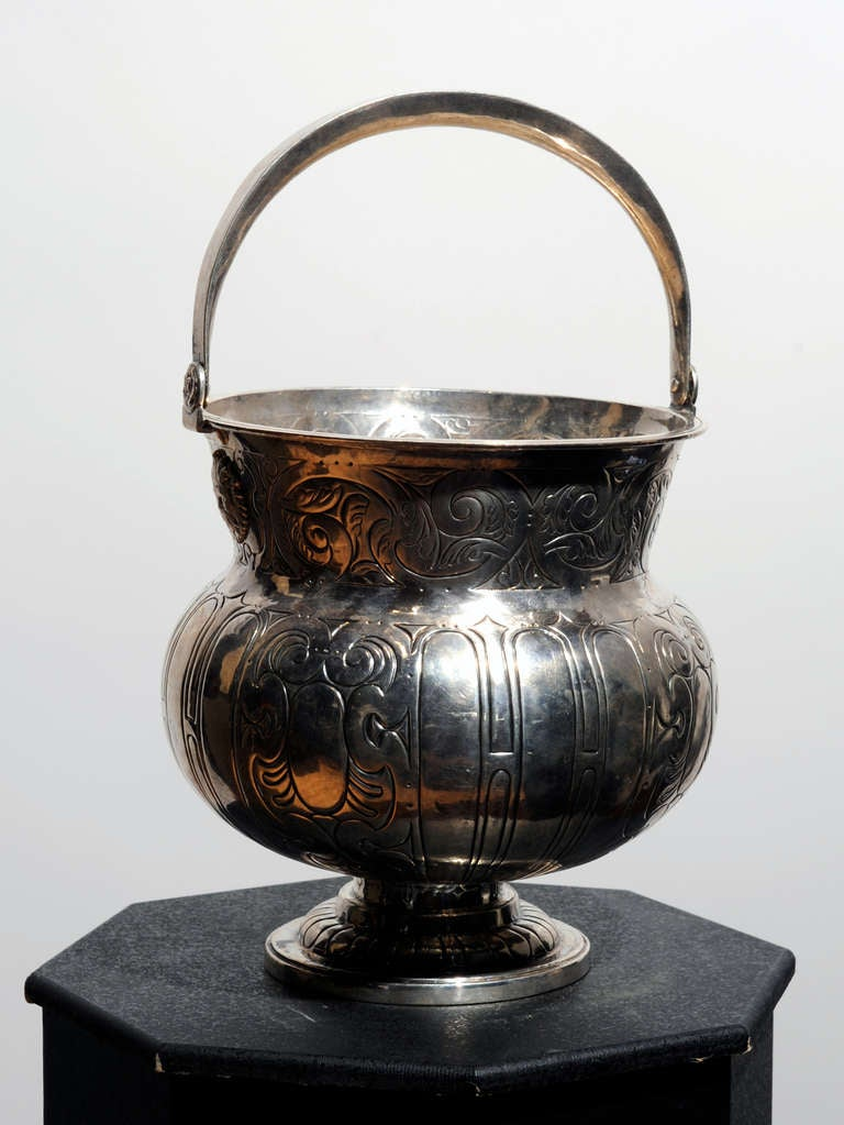 Spanish 18th Century Aspersorium (Holy Water Bowl) In Excellent Condition For Sale In Kensington, MD