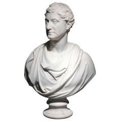 Portrait Bust of George W. Watson Taylor, Esq., M. P. (1771-1841) by John Gibson