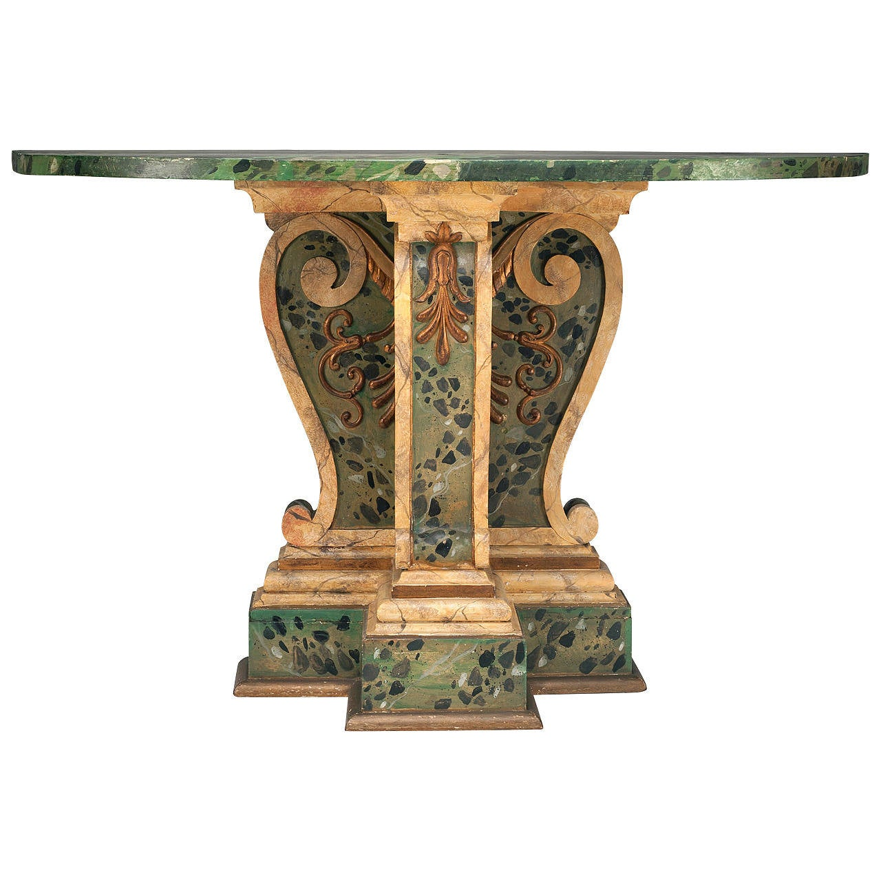 Late 19th Century French Pier Table