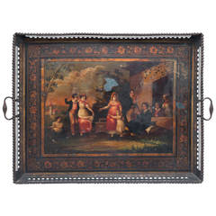 19th Century Russian Tole Tray