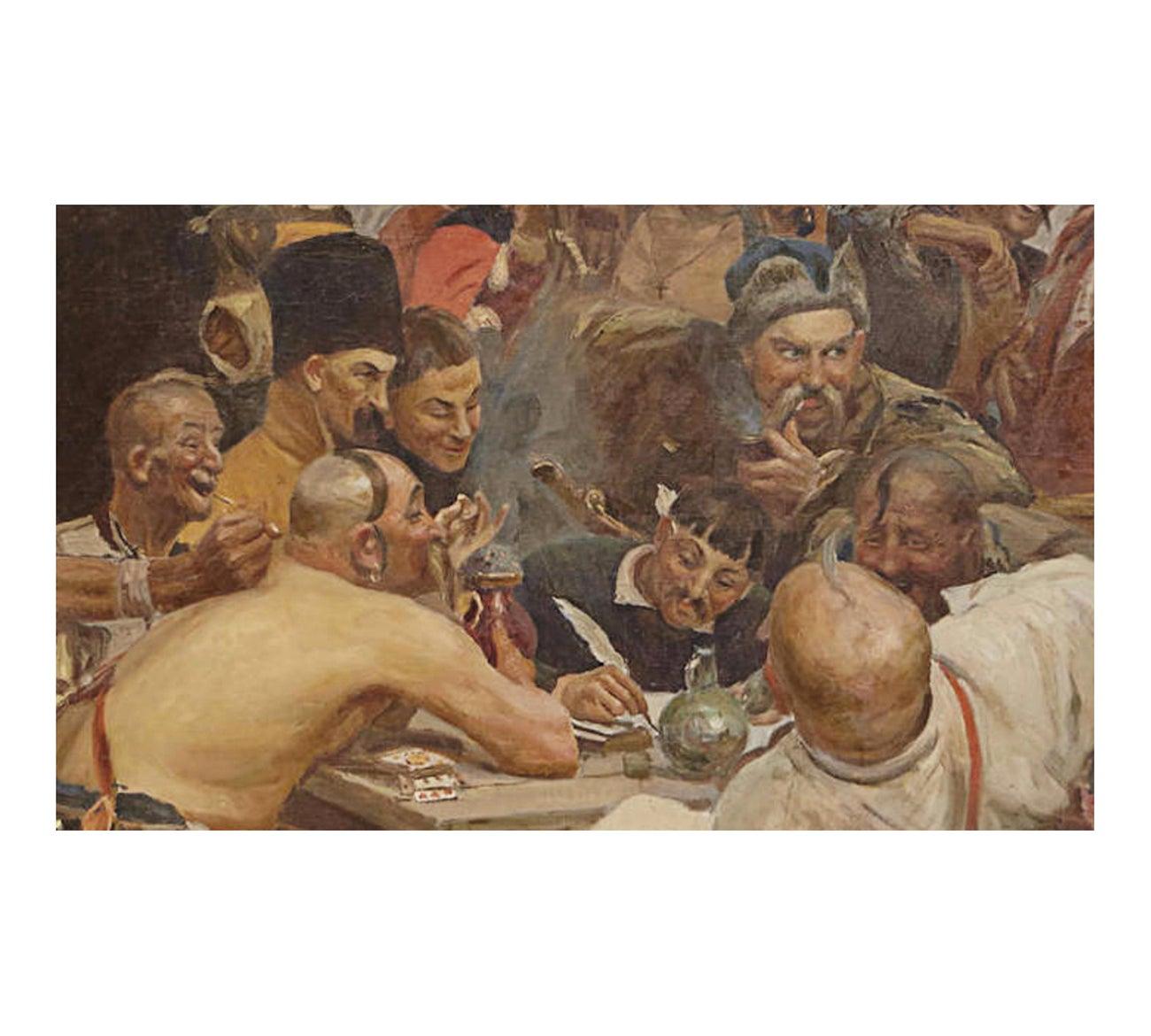 """By Ilya Repin Zaporozhian Cossacks Fine art print 20/"""" x 28/"""" NEW"""