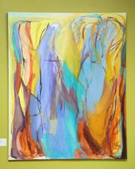 """Contemporary Painting """"Acquired Wisdom"""" by Gabriela Tolomei"""