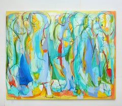"""Contemporary Painting """"Heartbeats in Symphony"""" by Gabriela Tolomei"""