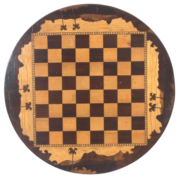 Tropical Inlay Game Board