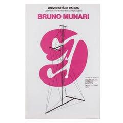 Bruno Munari Original Poster