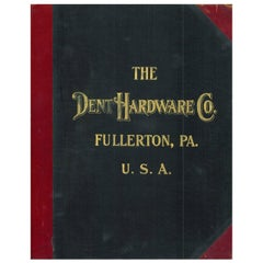 Dent Hardware Co. Trade Catalogue, Dated 1911