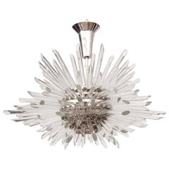 Glass Rod Miracle Sputnik Chandelier