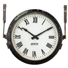 Gents of Leicester Station Clock