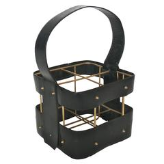 Jacques Adnet Wine Holder