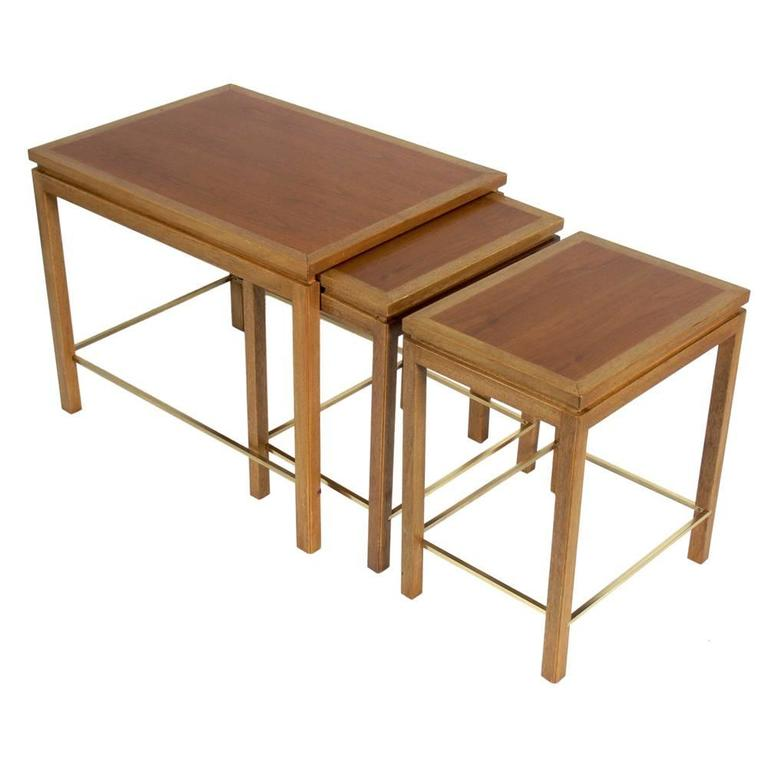Set of Nesting Tables Designed by Edward Wormley for Dunbar