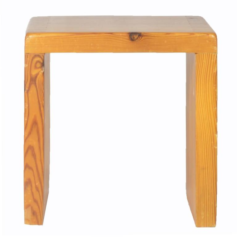 Charlotte Perriand Stool for Les Arcs For Sale