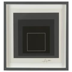 """White Line Square VIII"" by Josef Albers"