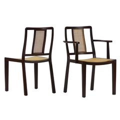 12 Dining Chairs by Edward Wormley for Dunbar