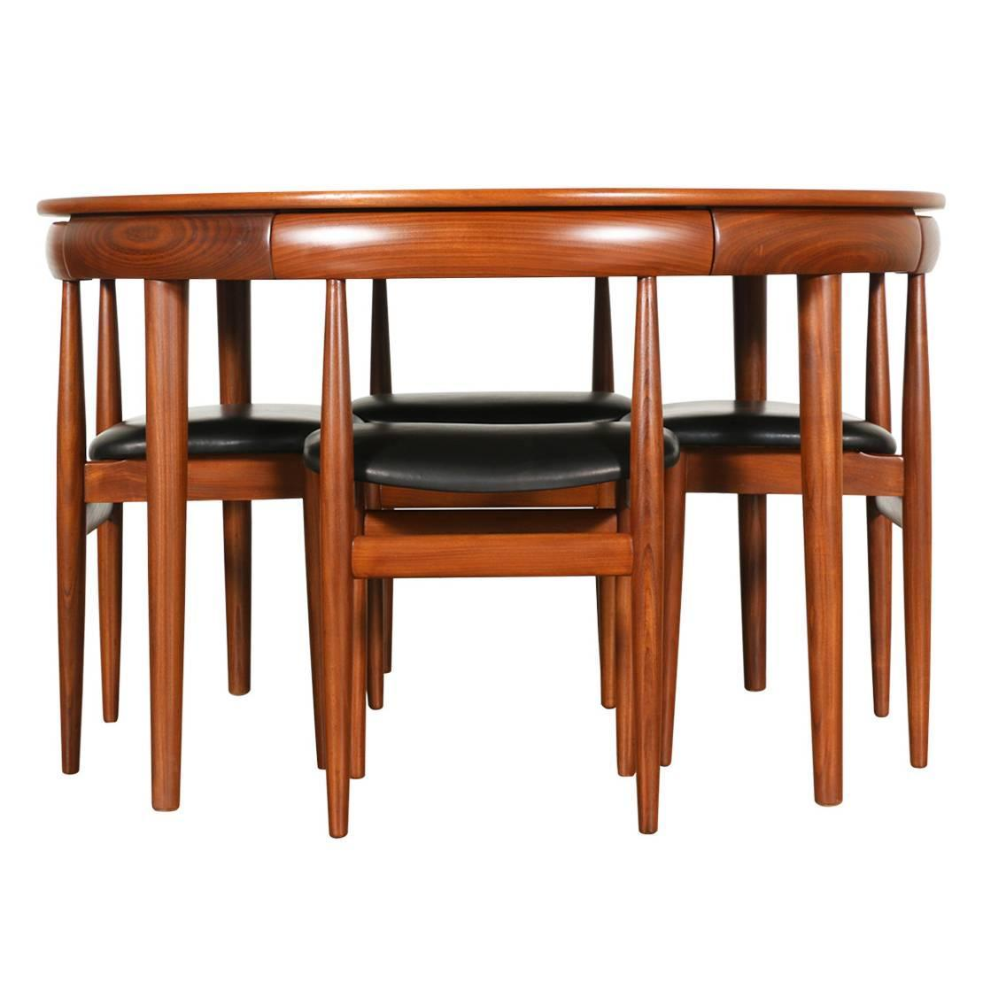 hans olsen roundette teak dining set for frem r 248 jle at