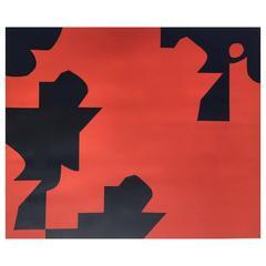 Emile Gilioli, Abstract Lithograph, 1970