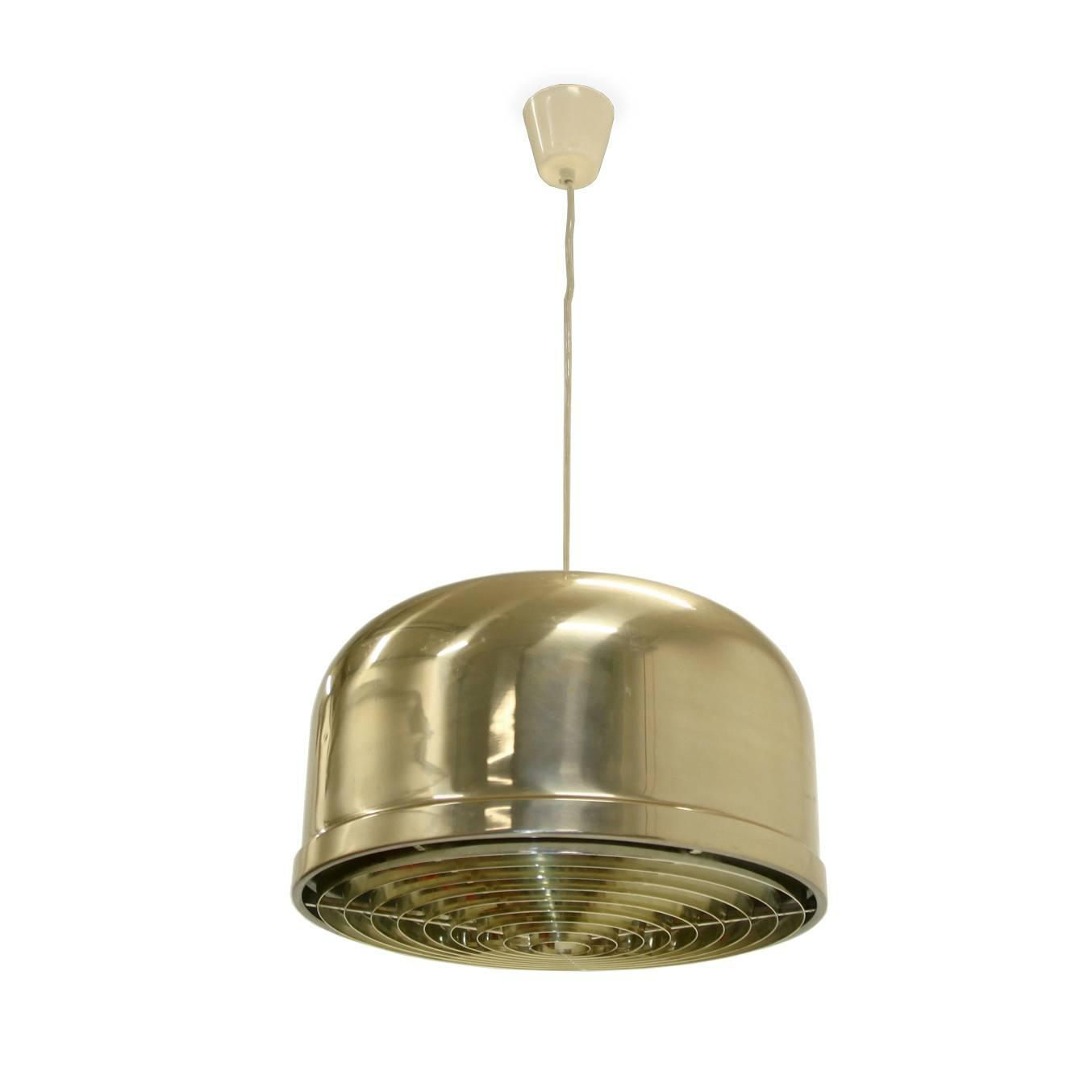 Scandinavian mid century ceiling light at 1stdibs for Mid century ceiling lamp