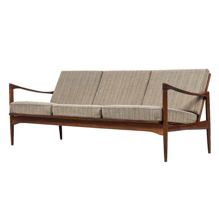 Ib Kofod-Larsen Sofa Model Kandidaten Produced by OPE in Sweden