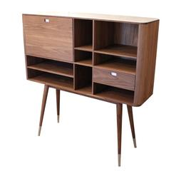 Naver Sideboard, Walnut and Corian by Nissen and Gehl MDD, AK 2750, circa 2014