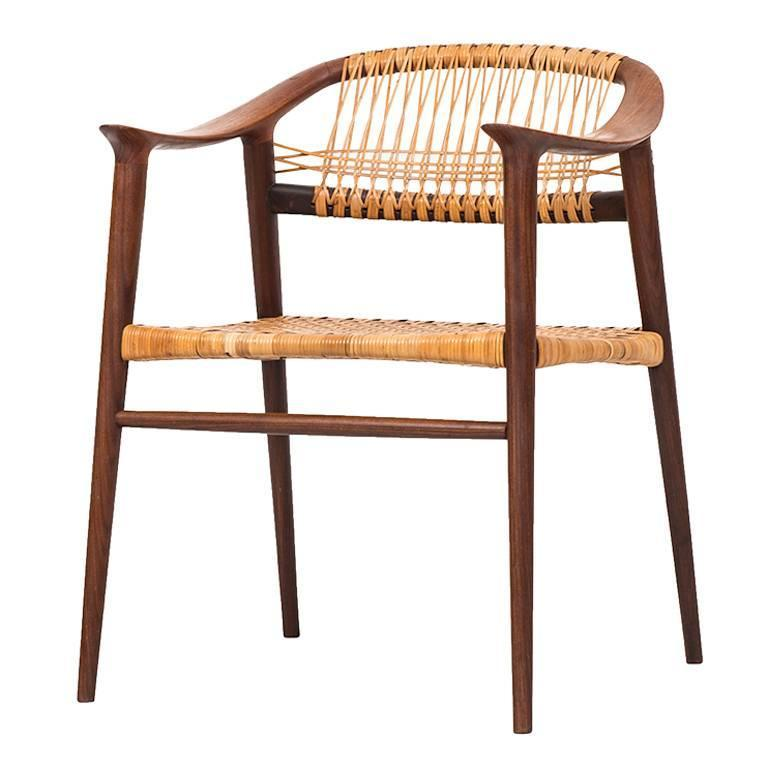 Rolf Rastad and Adolf Relling Armchair Model Bambi by Gustav Bahus in Norway For Sale