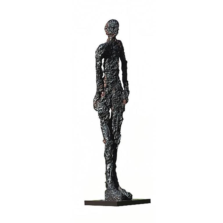 """Sculpture in Bronze """"Think"""" For Sale"""