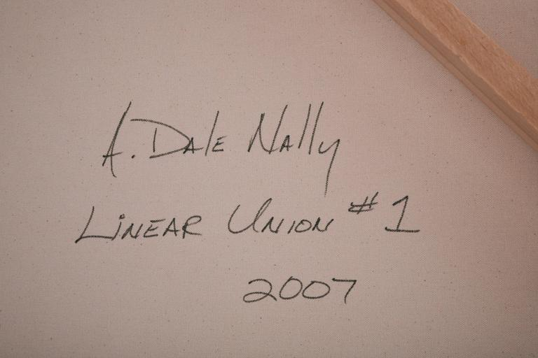 A. Dale Nally, Large Minimalist Sstyle Painting, 2007 For Sale 3