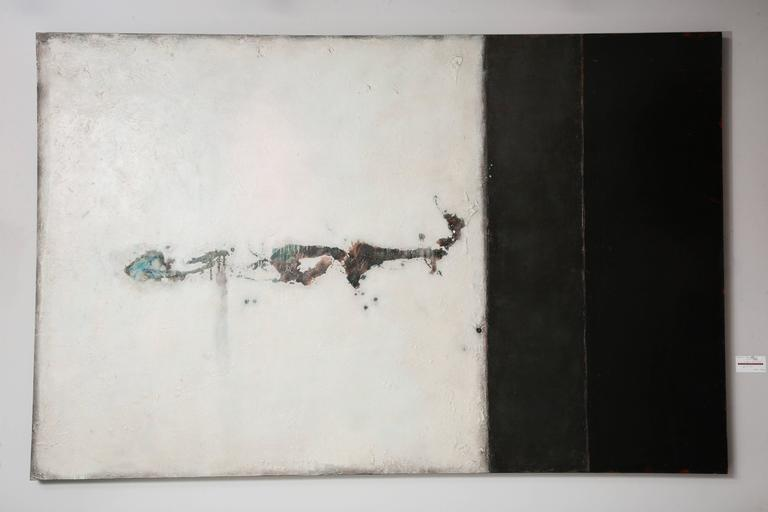 A. Dale Nally, Large Minimalist Sstyle Painting, 2007 For Sale 4