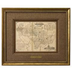 1856 Washington DC Map by Bohn