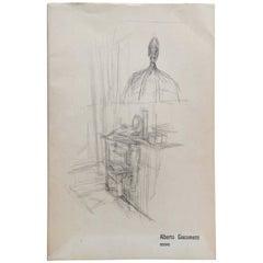 Alberto Giacometti, Dessins, 1968