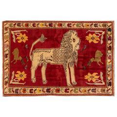 Lovely Nice Persian Vintage Gabbeh Rug
