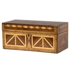 Exquisite 19th Century Parquetry Box