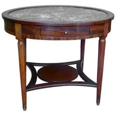 French 19th Century Bouillotte Table, Gueridon Table