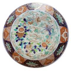 19th Century Large Imari Porcelain Charger