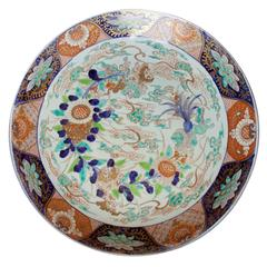 19th Century Large Imari Porcelain Charger