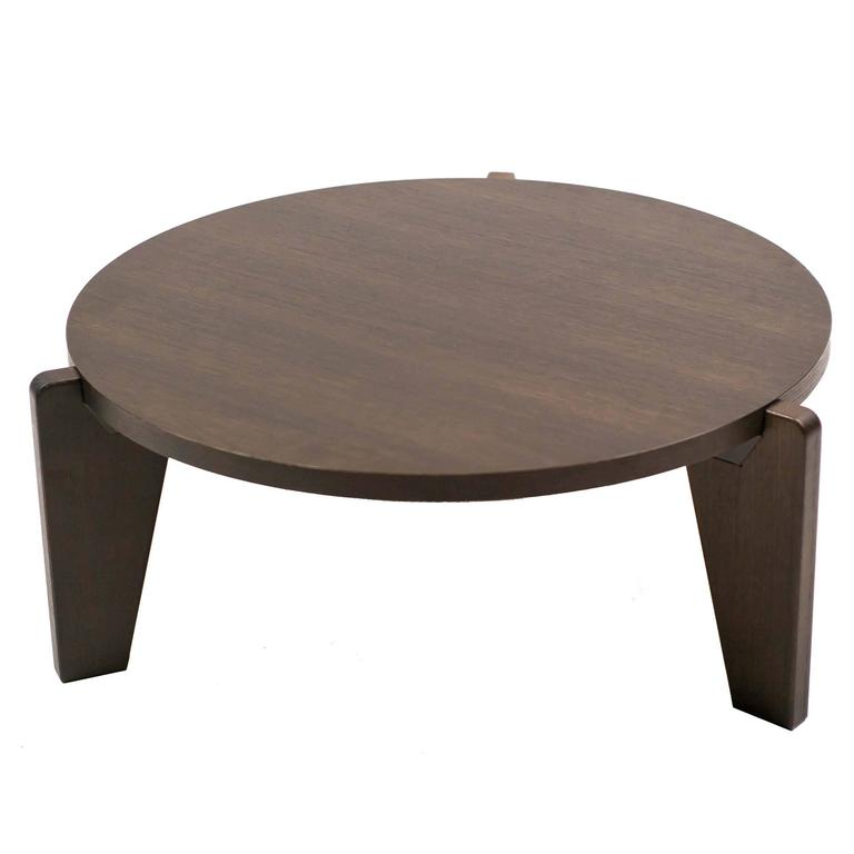 Gu Ridon Bas Coffee Table By Vitra Prouv Collection At 1stdibs