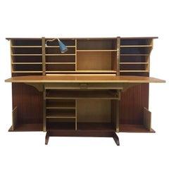 Mummenthaler & Meier Foldable Desk, Working station, Magic Box, 1960s