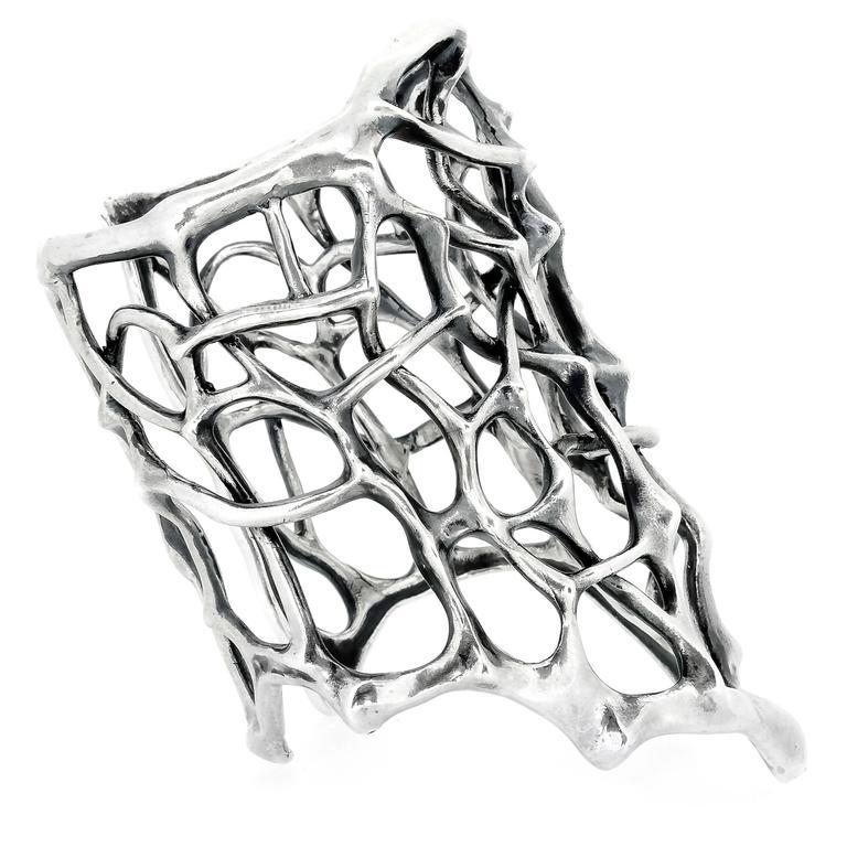 Thorn Silver Cuff