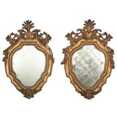 Italian GiltWood Mirrors, 18th Century